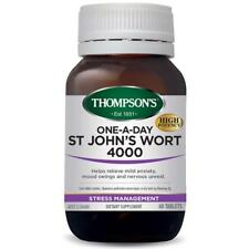 Thompsons One-A-Day St. Johns Wort 4000mg 60 Tablets (Thompson's)