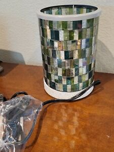 Scentsy Ocean Mosaic Wax Warmer Gorgeous New in Box