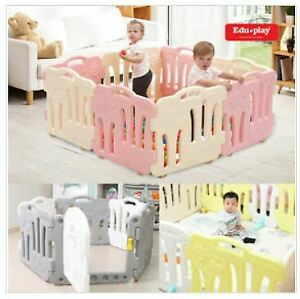 Baby Toddler Safety Indoor Play Room Self Standing Fence Playhouse Fences