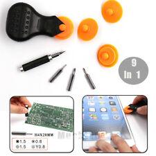9 in 1 Screwdriver & Rolling Opener Repairing Tool Kit For iPhone Samsung Repair