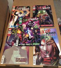 DC Comics Suicide Squad Black Files Lot