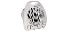 Small space heater fan personal desktop electric portable auto off adjustable