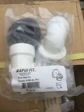 Rapid Fit Dual Test TS-8 Waste / Overflow R-0476 Chrome (NEW)