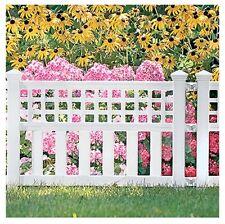 Suncast 20-1/2''H x 24''W x 1-1/2''D, White, Grand View Fence GVF24