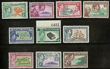 Pitcairn Islands  1940-51  Scott # 1-8 MNH Set