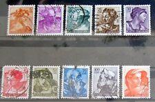 Briefmarken Italien Lot mit alten Marken Poste Italiane