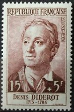 STAMP / TIMBRE FRANCE NEUF N° 1168 ** CELEBRITE / DENIS DIDEROT