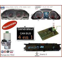 Emulador ensayador cuadro de instrumentos velocímetro tablero Renault Scenic 2