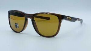 Oakley Trillbe X POLARIZED Sunglasses OO9340-2152 Polished Rootbeer W/ Bronze