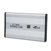 "Sodial(R) 2.5"" USB 2.0 SATA Hard Drive HDD Case Enclosure AD"