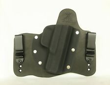 FoxX Leather & Kydex IWB Hybrid Holster Ruger Security 9 Black Right Tuckable