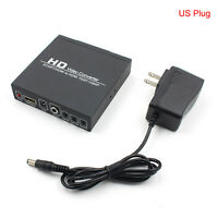 Scart/HDMI to HDMI adapter 720/1080P HD Video Converter Box for HDTV DVD STB QW