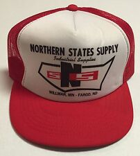 Vtg Northern States Supply Trucker Hat Industrial Supplies Wilmar MN Fargo ND