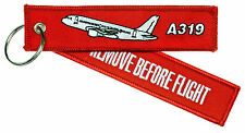 Remove Before Flight a319 porte clés keyring Airbus 319