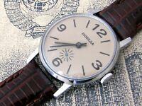 Watch Pobeda USSR Vintage Soviet Mechanical Zim Russian Wrist Dial New Rare Men