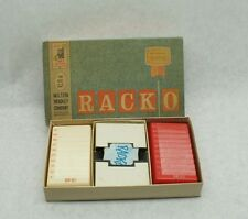 1961 VINTAGE MILTON BRADLEY RACKO Card Game