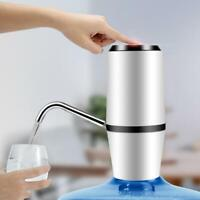 Electric USB Auto Dual Water Pump Dispenser Gallon Bottle Drinking Button Switch