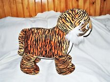"Giant 24"" Child Sized Steel Frame Caltoy Plush Sit On/ Ride On Tiger Toy EUC"