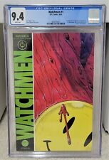 Watchmen #1 (1986) CGC 9.4 - Many 1st Appearances DC Comics Key