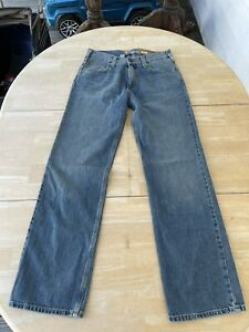 Carhartt Relaxed Straight Jeans B320 Mens Size 30x32 Blue 100% Cotton Denim