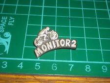 PIN DISTINTIVO badge con moto motorbike monitor2