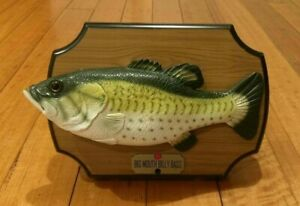 Big Mouth Billy Bass - Singing Fish - Gemmy Industries - 1999 - Mounted - VGC