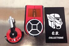 Transformers The Movie Booster X10 Real Gear MP3 100% Complete
