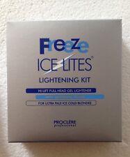 Proclere Freeze Ice Lites Gel hair  Bleaching /lightening Kit