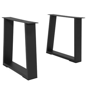 DIY 16'' Industry Dinner & Coffee Table Legs Metal Iron Bench Furniture W/Screw