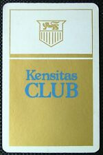 1 x Joker playing card Kensitas Club Cigarettes single swap ZA31c