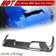 Carbon Fiber For SUBARU WRX STI 4th  Levorg V2 Front Hood Scoop Vent Cover