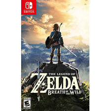 Nintendo's The Legend of Zelda: Breath of the Wild Game for Nintendo Switch