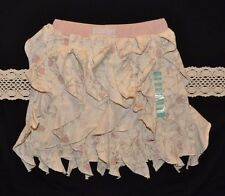 NWT Naartjie Kids Vertical Ruffled Skirt (Size 5, M) Creme Color/Pattern