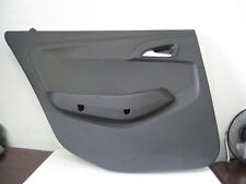 Chevrolet Caprice 2013 Interior Rear Door Panel, Black, Trim, Police Takedown