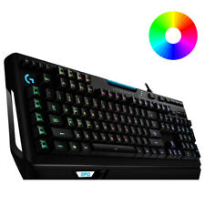 Logitech G910 Orion Spectrum RGB Mechanical Gaming Keyboard UK Layout - Black