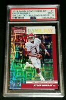 PSA 9 1/1 KYLER MURRAY RC /10 SSP BUILDING BLOCKS ROOKIE *2019 Panini Contenders