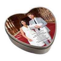 Royal Baby Master Archie Harrison Mountbatten-Windsor Heart Shaped Keepsake Tin