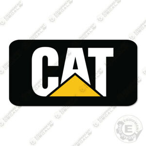 Caterpillar M313D Decal Kit Excavator Decals - REAR DECAL ONLY - 3M VINYL!