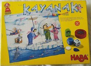 KAYANAK - Angeln, Eis & Abenteuer HABA 7146 Kinder Spiel des Jahres KULT