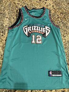 Vancouver Grizzlies Ja Morant 100% Court Authentic By Nike Size 52 New RARE!!