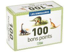 100 bons points école : collection les dinosaures Fabriqués en France