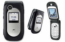 Motorola V Series V365-Negro (Desbloqueado) Teléfono Abatible (V360 e398 e1 l7 Series)