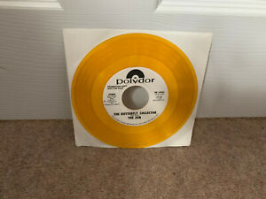 """The Jam – The Butterfly Collector  7"""" Yellow Vinyl US PROMO"""