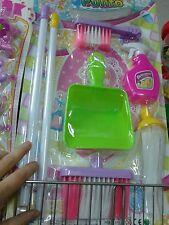 Set bellezza pulizia casa bimbe kit gioco di qualità giocattolo toy a35