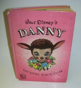 Walt Disney's Danny The Little Black Lamb 1949 Whitman Book