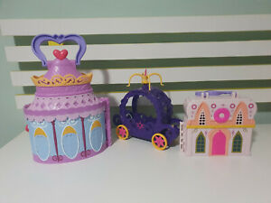 MY LITTLE PONY HOUSES AND CARRIAGE