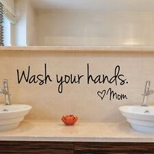 Waterproof  Toilet Bathroom Tile Wall Sticker Vinyl Art Decals Home Decor DIY