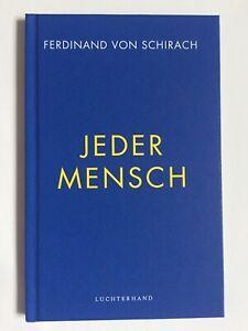 Ferdinand von Schirach signiert Buch Original Unterschrift Signatur Autogramm
