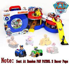 Fun Paw Patrol Dog Pup Doll Figures Race Track Car Parking Set Kids Boy Girl Toy