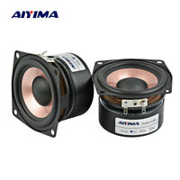 AIYIMA 2PC 2.5Inch Audio Speaker 4Ohm 8Ohm 8-15W HIFI Full Range Loudspeaker